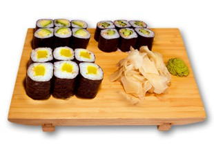 Set Menu Sushi Lieferservice in Berlin (PLZ: 10117, 10115, 10179, 10178, 10785, 10969) - Maki set vegetarisch